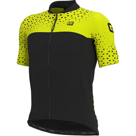 Alé Cycling Solid Climb Jersey korte mouwen Heren, fluo yellow/black